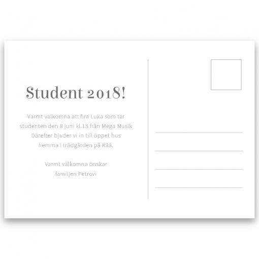 Inbjudningskort student Elsie-08-01