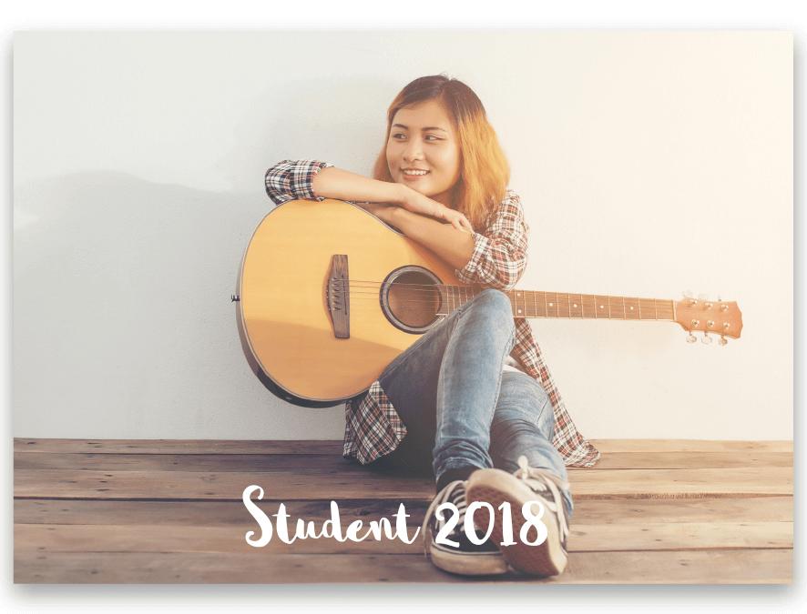 Tackkort Student Sophia
