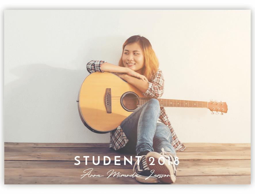 Tackkort Student Josefin