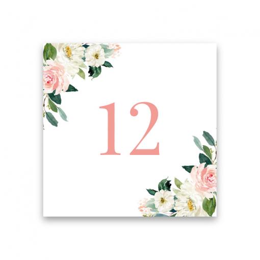 bordsnummerskylt till bröllop